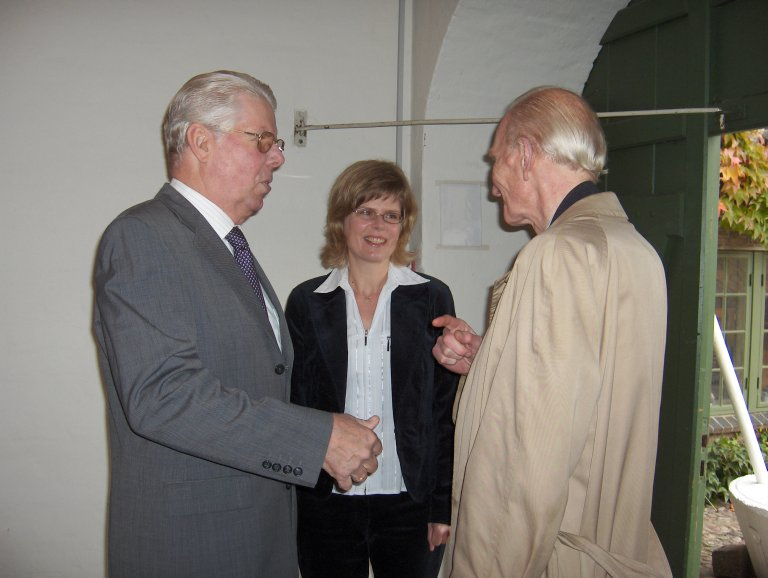 20 oktober 2006 Marcussen Jürgen Zachariassen, Claudia Zachariassen en Cor Edskes