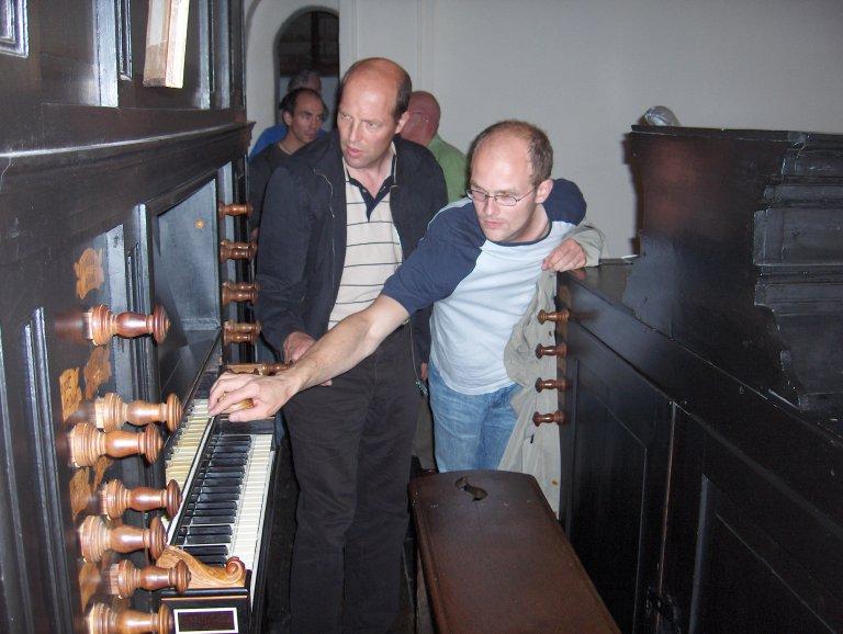 Hendrik Ahrend en Gregor Bergmann