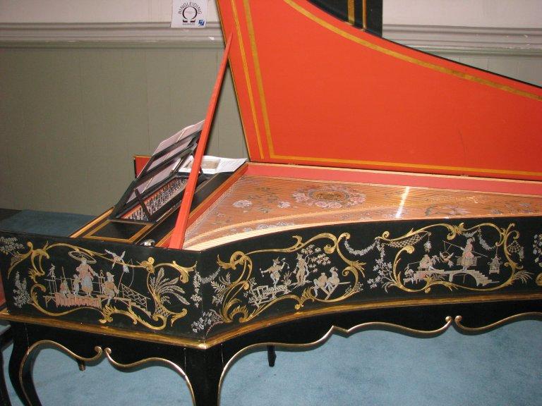 Chinoiseriën Taskin clavecimbel