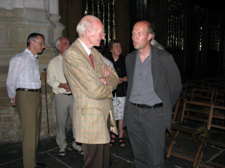Cor Edskes en Hendrik Ahrend