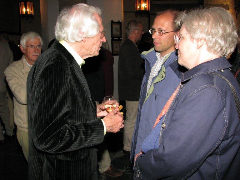Piet Kee met Jaco van Leeuwen