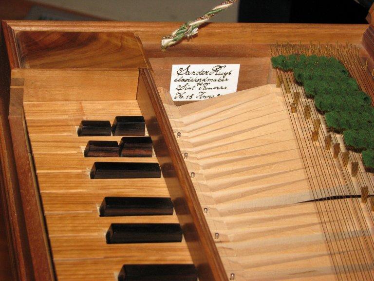 Clavichord Sander Ruys