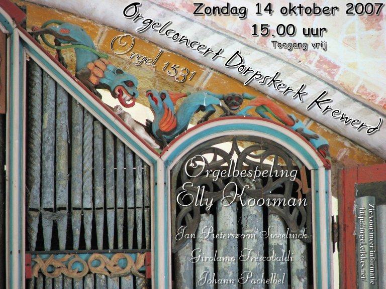 Poster Krewerd 14 oktober 2007