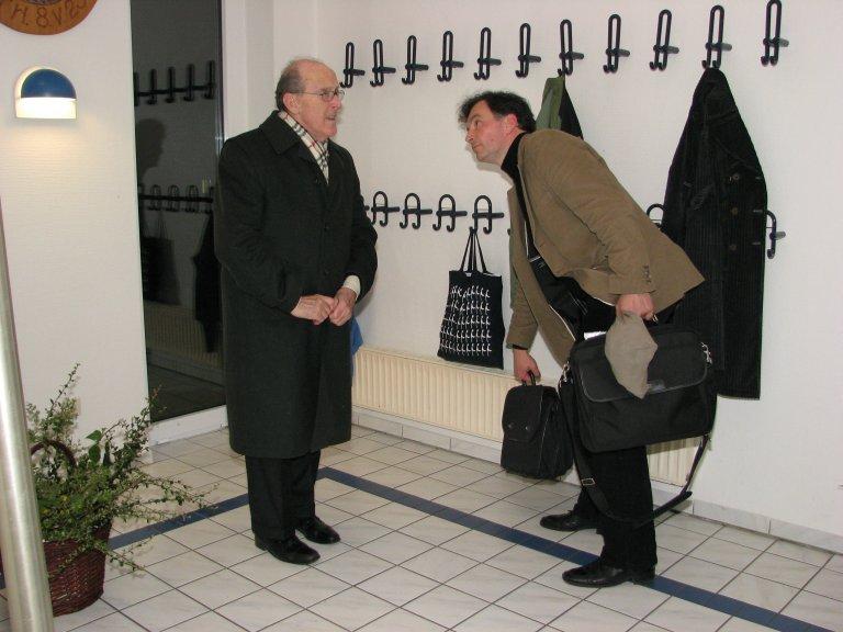 Luigi Tagliavini en Andreas Liebig