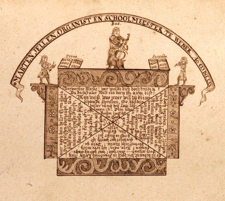 Marten Jellen 1765 Choral=Buch