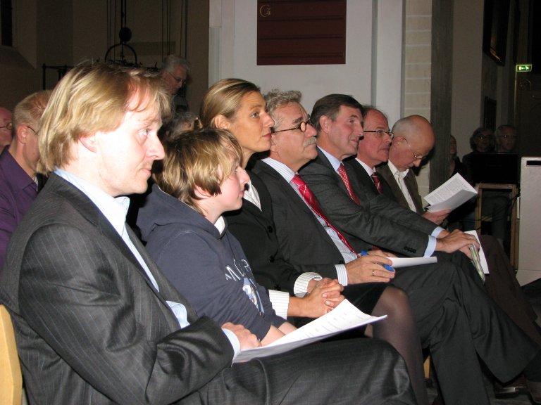 Jos Bazelmans, Dick Hoek, Roel Robbertsen, Jan Luth