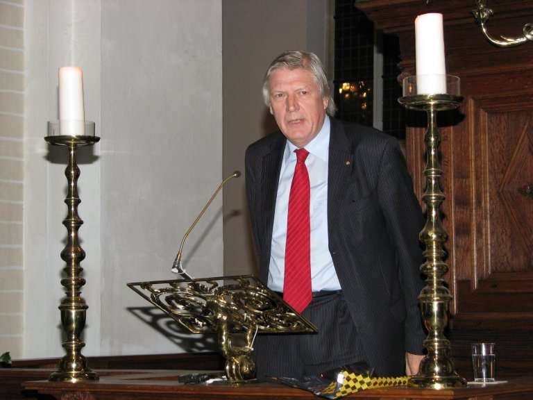 Fons Asselbergs, Stichting Peter Gerritszorgel