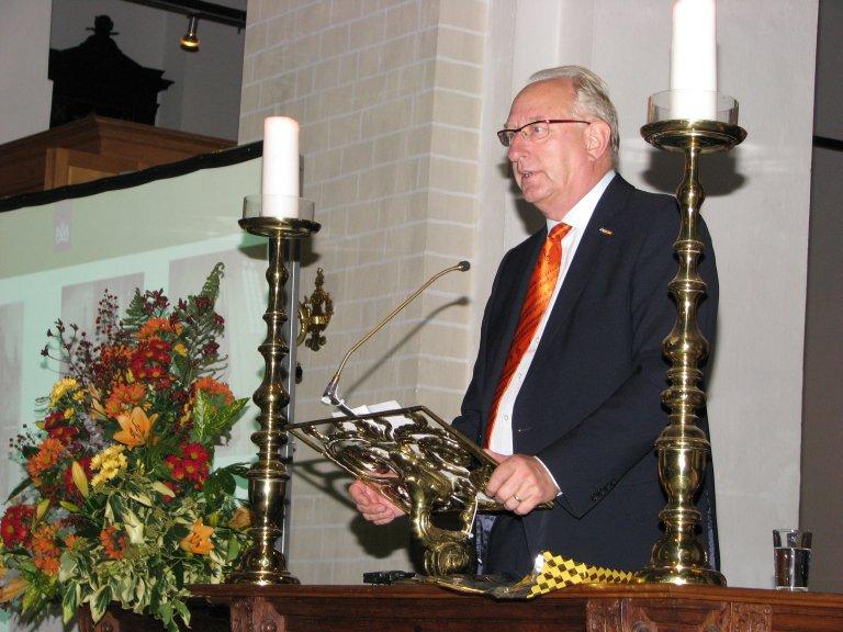 Loek Dijkman, voorzitter Stichting Orgelpark