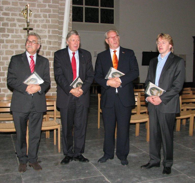 Dick Hoek, Fons Asselbergs, Loek Dijkman, Jos Bazelmans