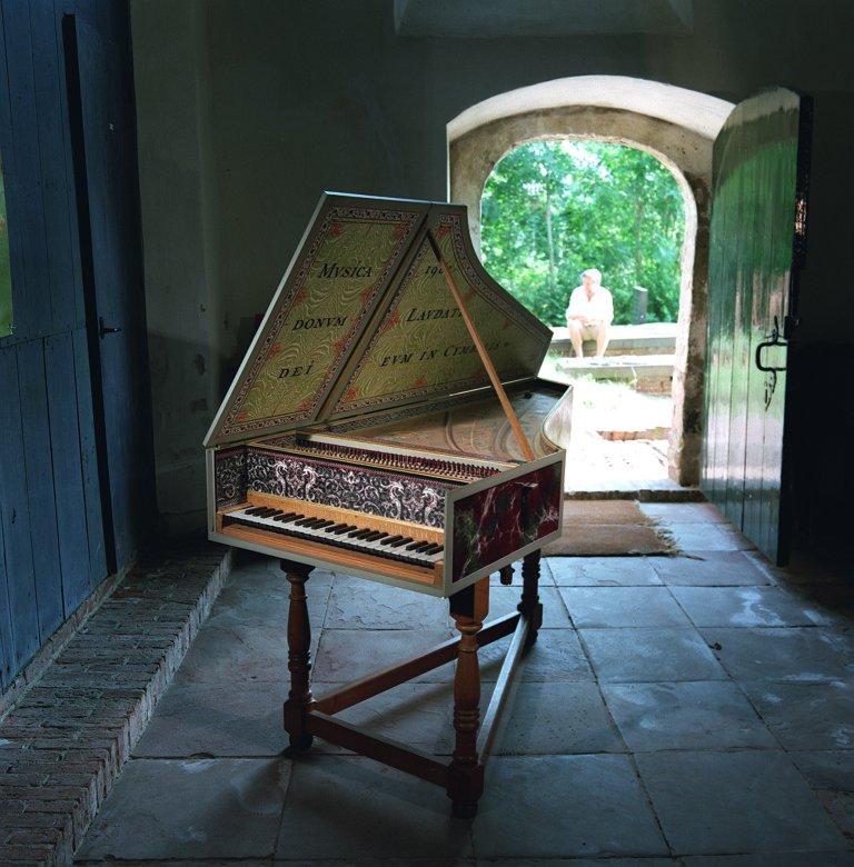 David J. Rubio Kopie Vlaams clavecimbel Ruckers 1640