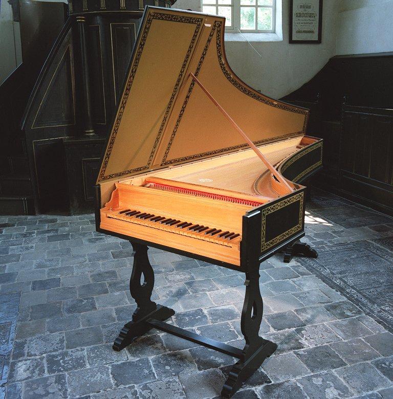 David J. Rubio Kopie Italiaans clavecimbel Giusti 1679