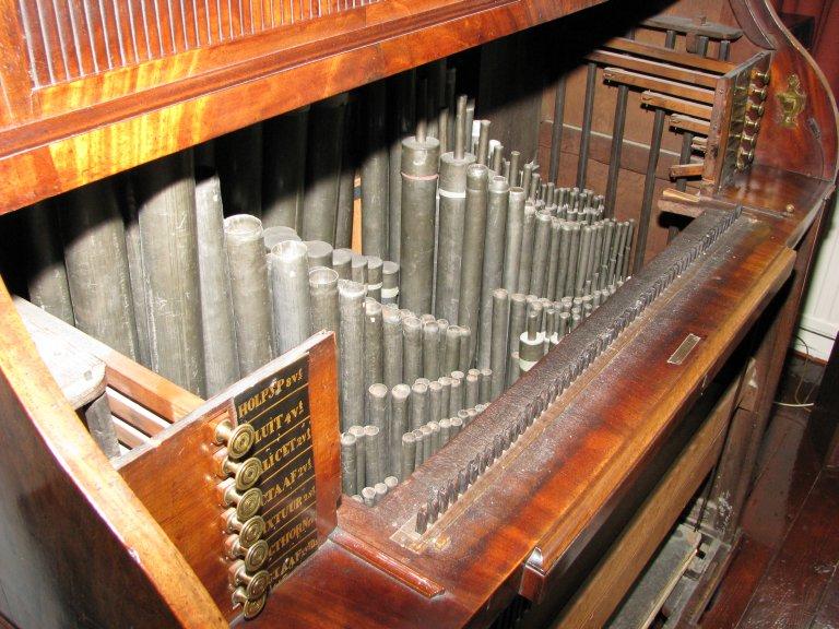 Pijpwerk en registermechaniek