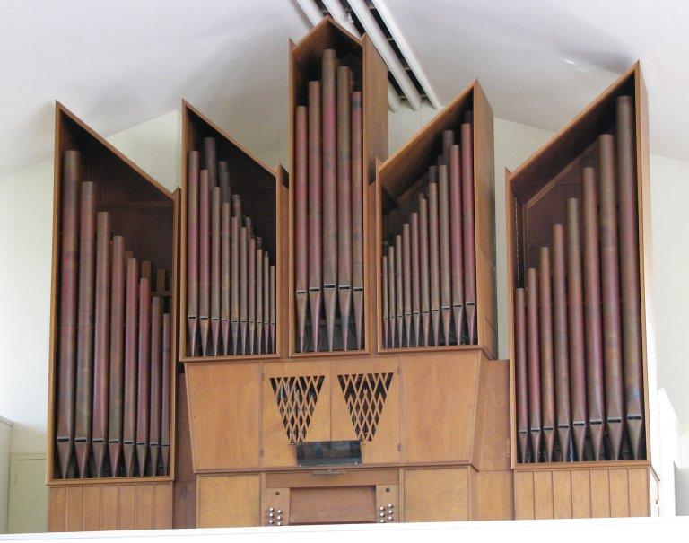 Orgel D.A. Flentrop 1957