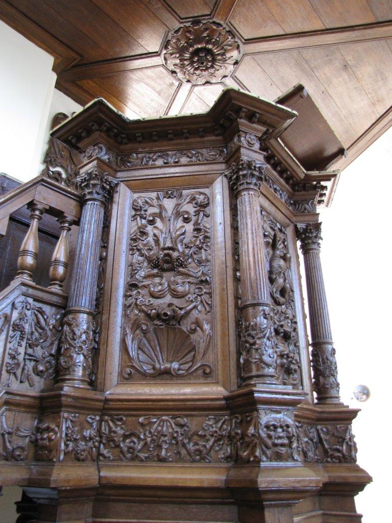 Der Aa-kerk Groningen Preekstoel
