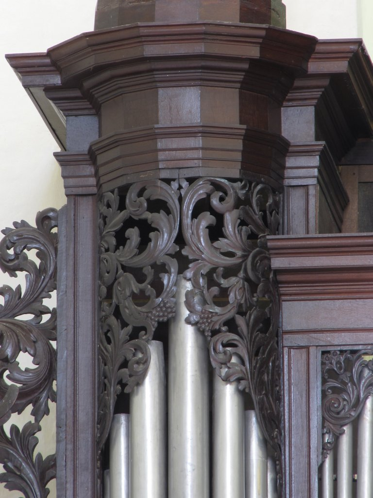 Der Aa-kerk Groningen Pedaal Blinderingssnijwerk zuider toren