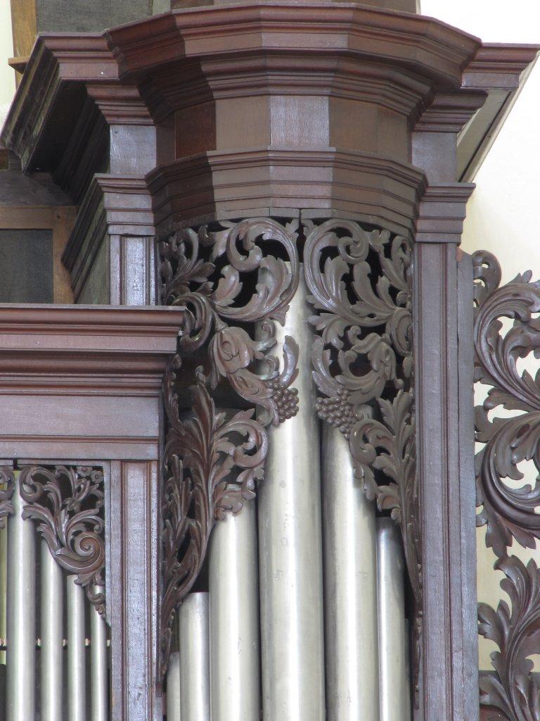 Der Aa-kerk Groningen Pedaal Blinderingssnijwerk noorder toren