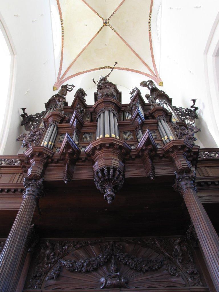 Der Aa-kerk Groningen Schnitgerorgel van onderen