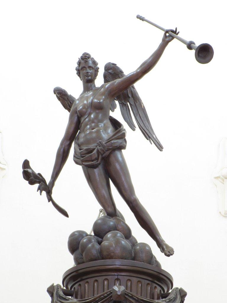 Der Aa-kerk Groningen Engel met trompet