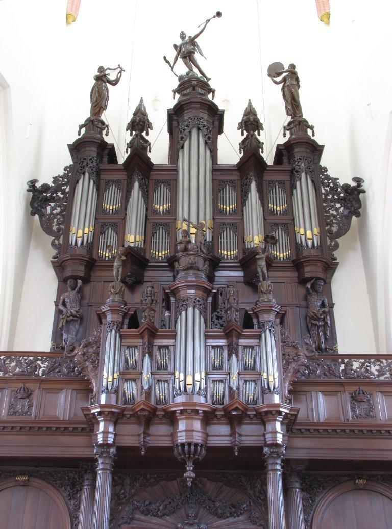 Der Aa-kerk Groningen Schnitgerorgel 1702