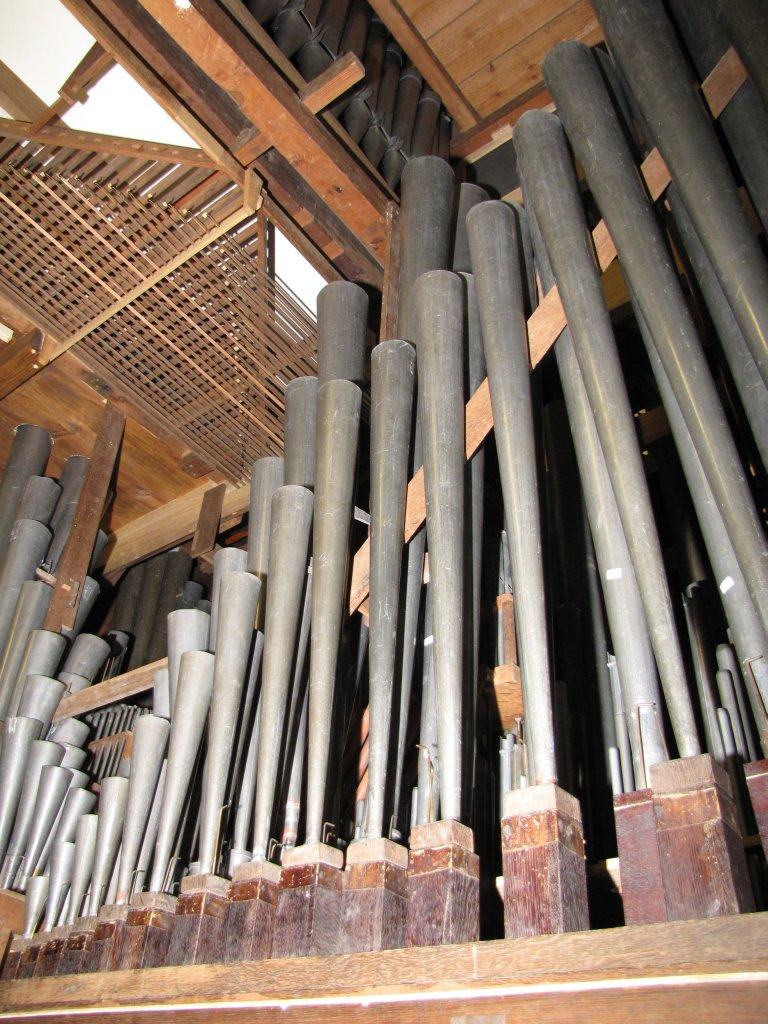 Der Aa-kerk Groningen Hoofdwerk Trompet 8 en deel van het Bovenwerk