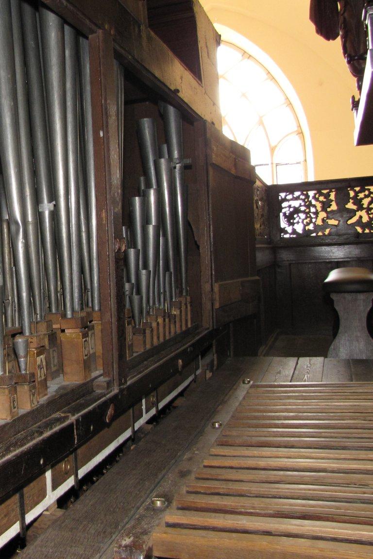 Der Aa-kerk Groningen Rugpositief kast geopend