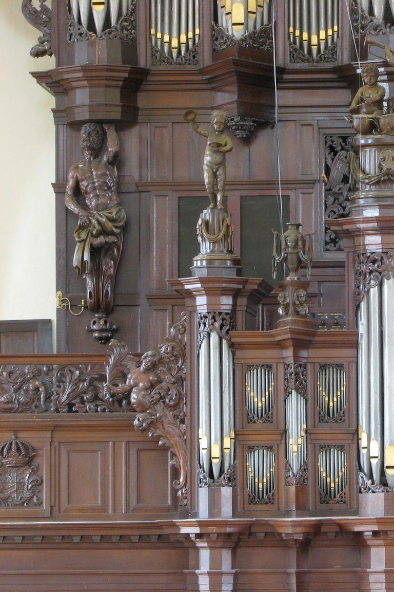 Der Aa-kerk Groningen Rugpositief