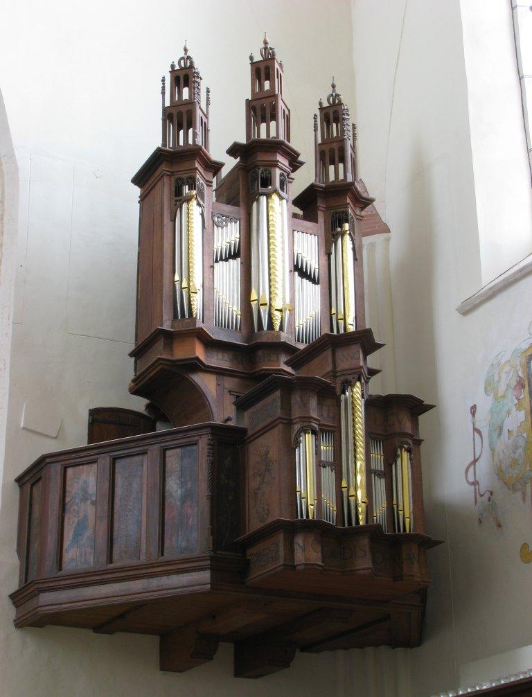 Der Aa-kerk Groningen Orgelfront