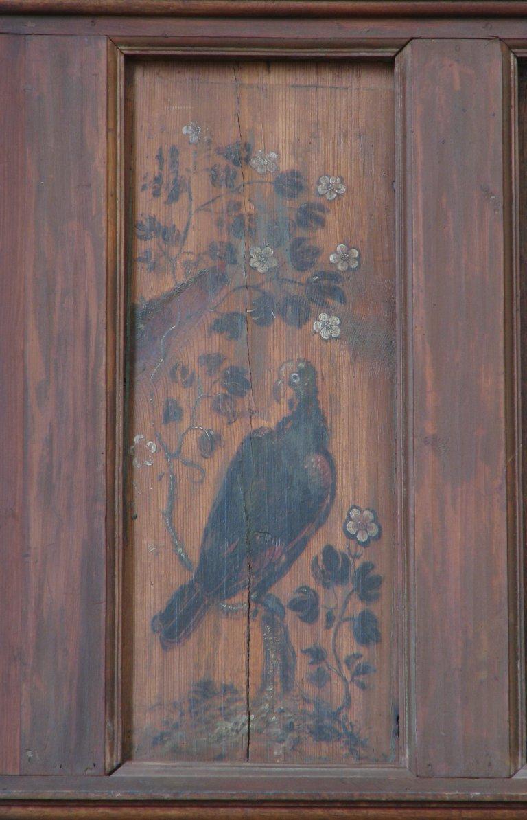 Der Aa-kerk Groningen Balustade vogel