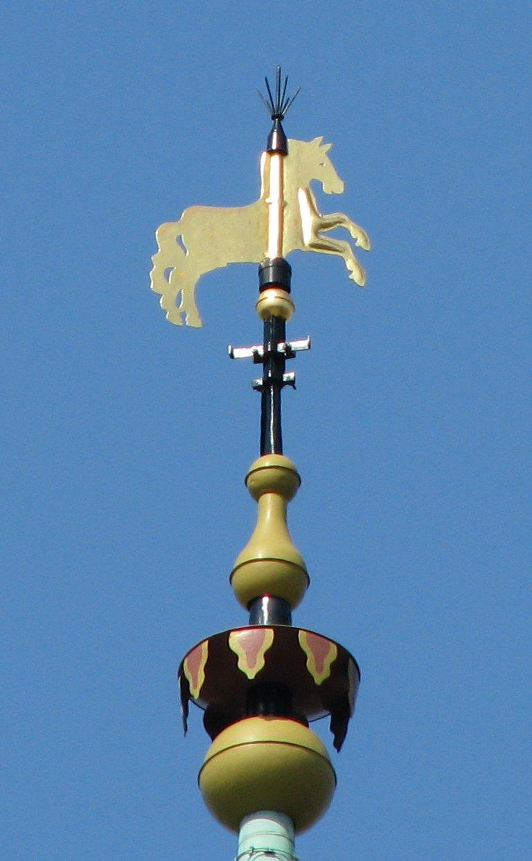 Martinikerk Groningen Toren Paard