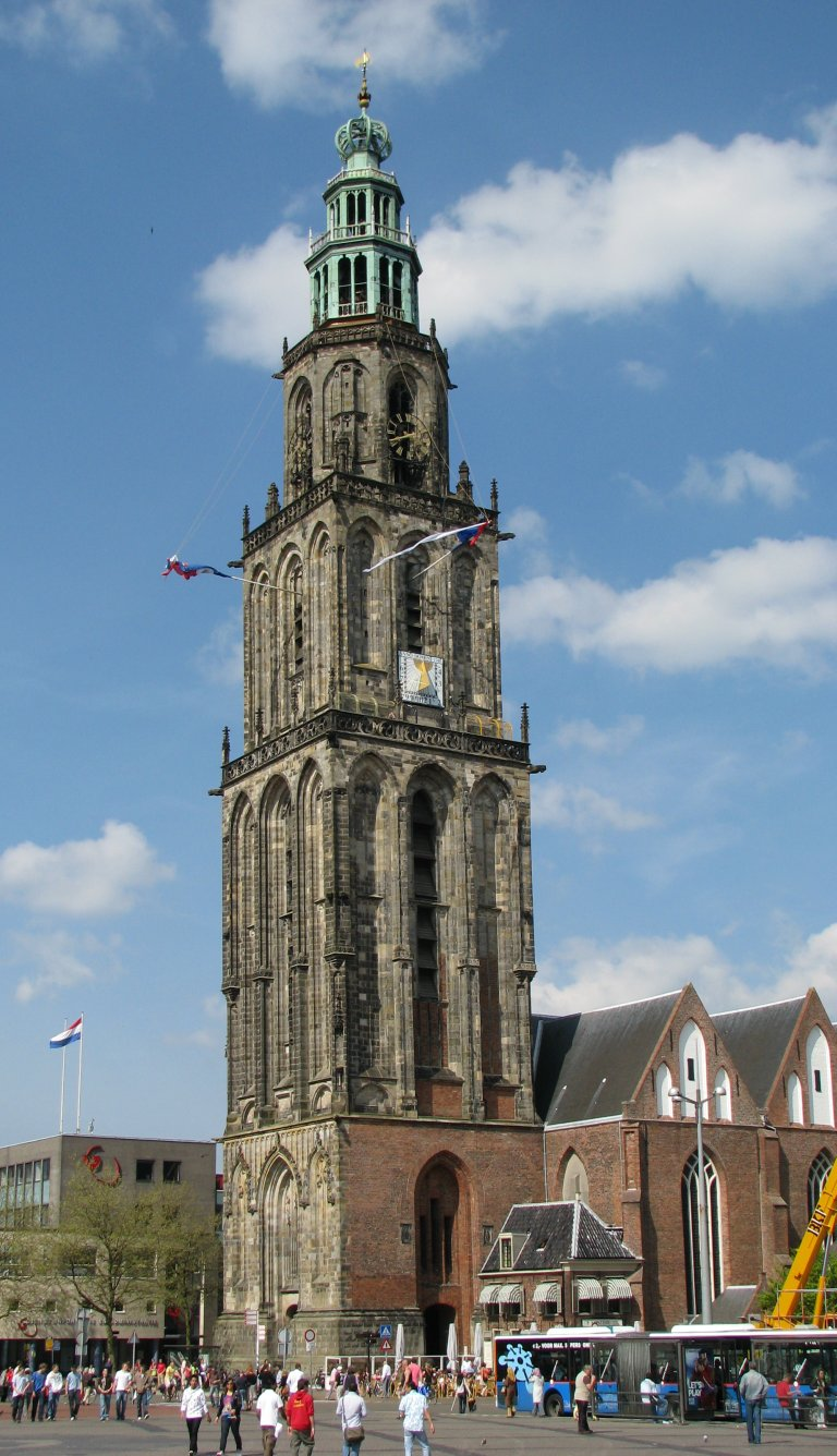 Martinikerk Groningen Toren