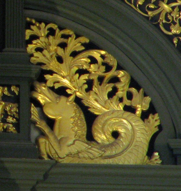 Martinikerk Groningen Detail bekroning