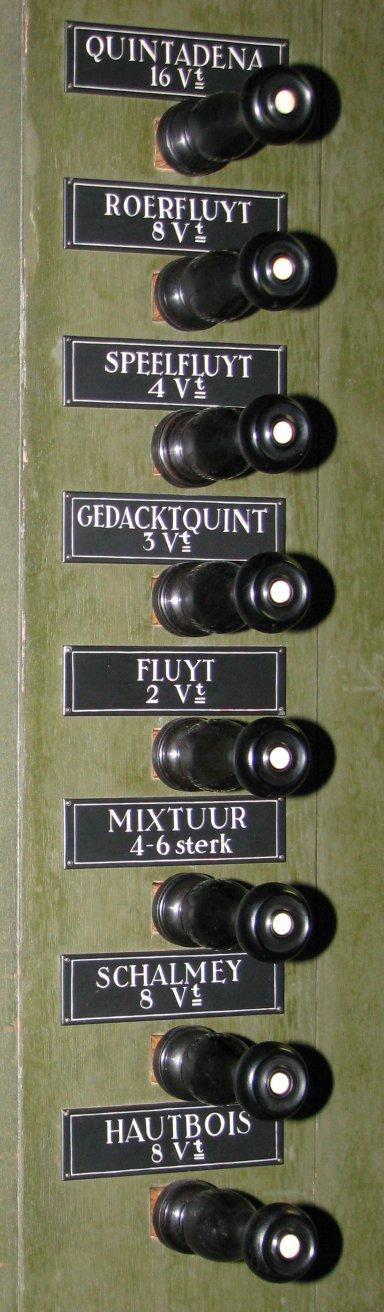 Martinikerk Groningen Registers Rugpositief rechts