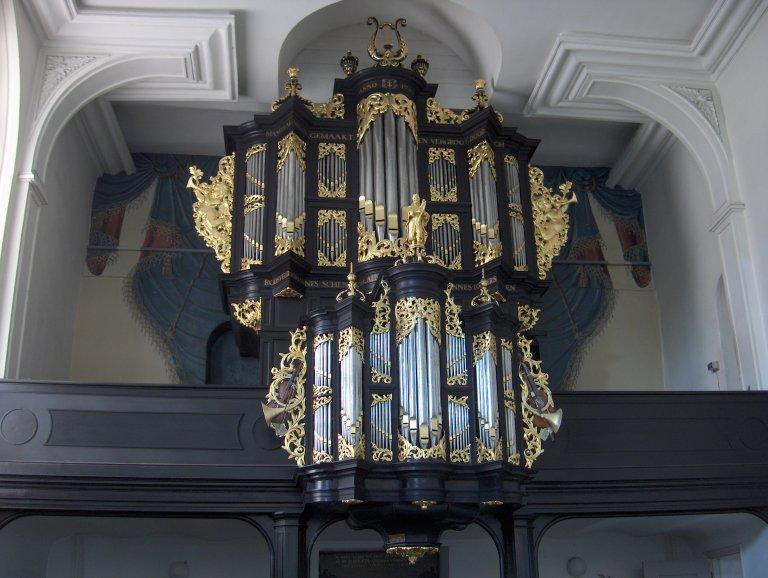 Pelstergasthuiskerk Groningen Schnitgerorgel 1693 Front