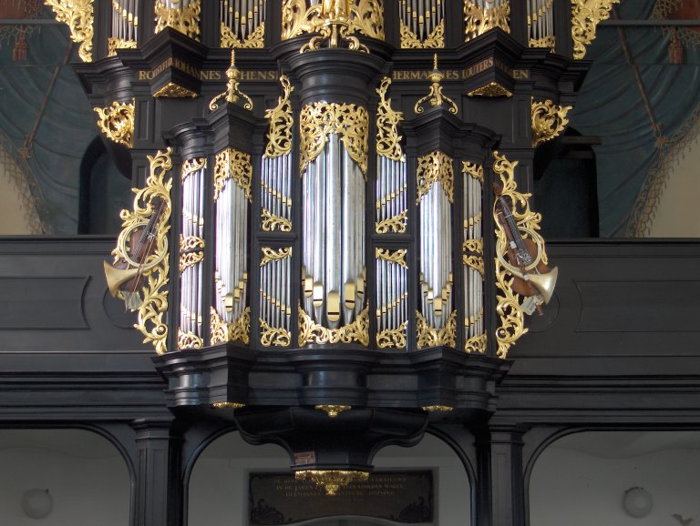 Pelstergasthuiskerk Groningen Rugpositief