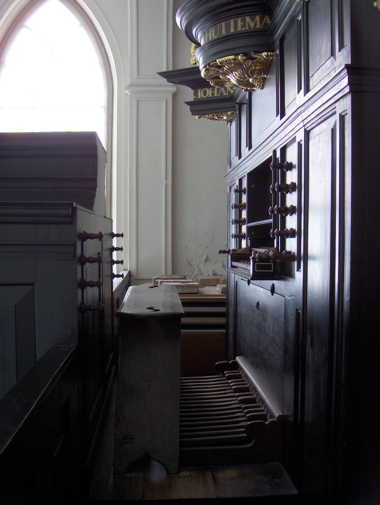 Pelstergasthuiskerk Groningen Schnitgerorgel 1693 Speeltafel
