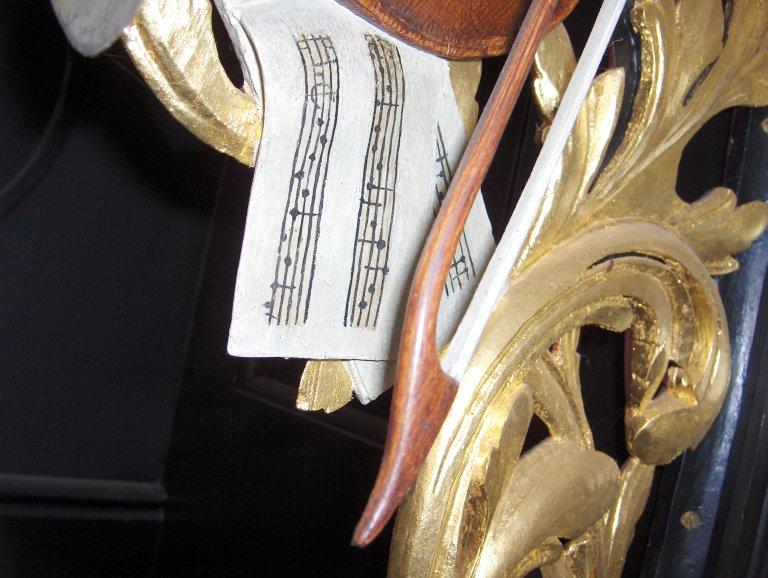 Pelstergasthuiskerk Groningen Vleugelstuk Rugpositief Links Detail