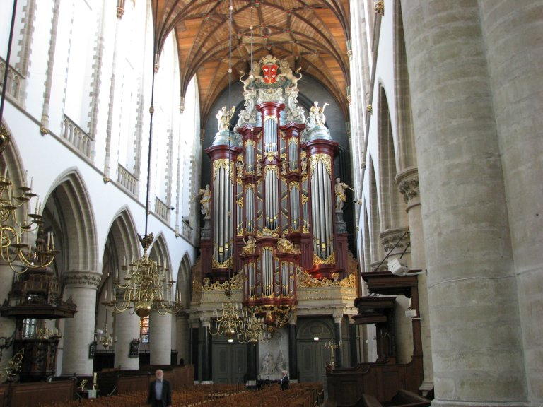 Orgel Christian M&uuml;ller 1738