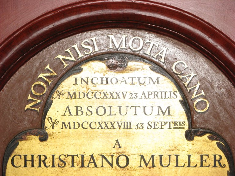Christian M&uuml;ller 1735-1738