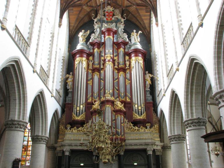 Orgel Christian Müller 1738