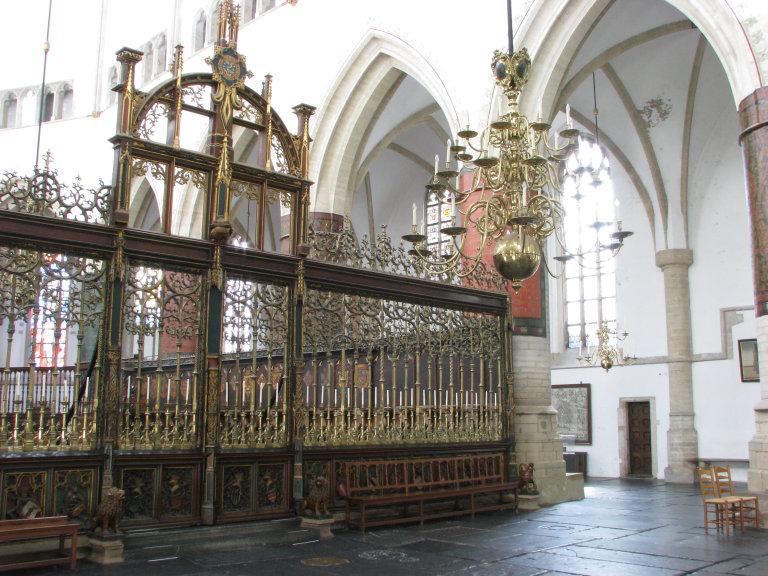 Koperen koorhek 1517