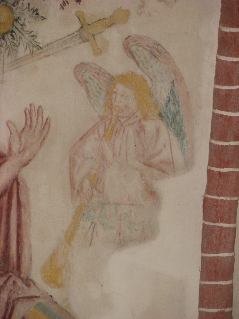Engel blaast de bazuin