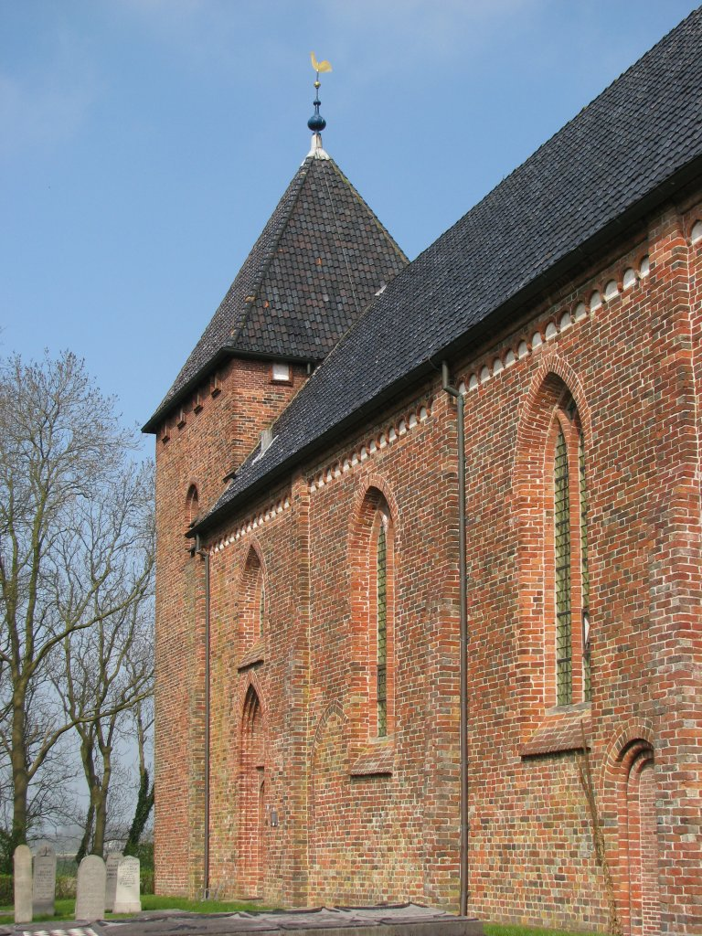 Eenbeukige romano-gotische kerk