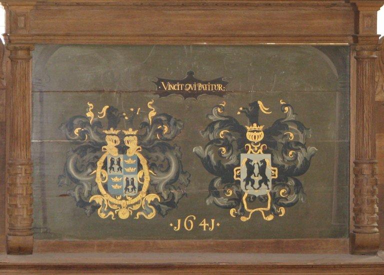 Koorhek wapenbord 1641