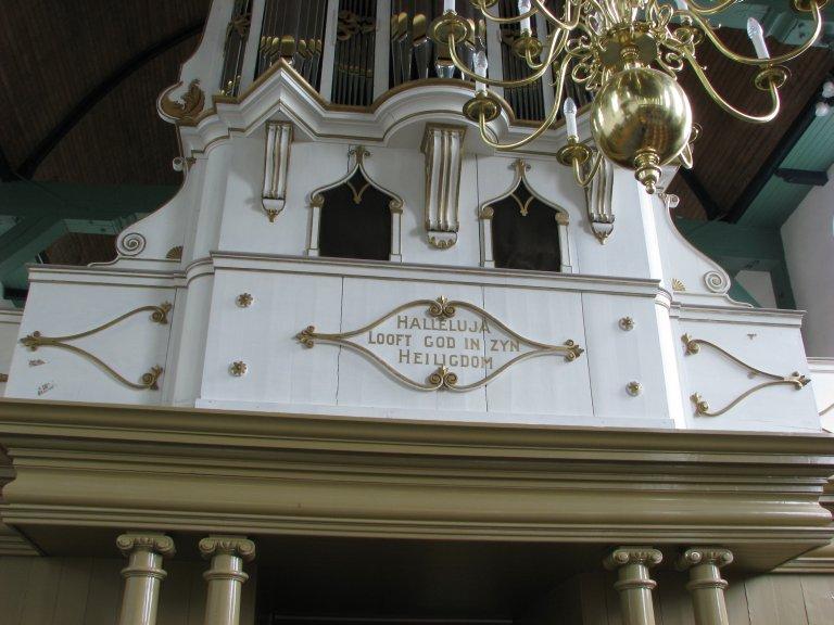Onderkast Johannes van Nieuwkerk 1855