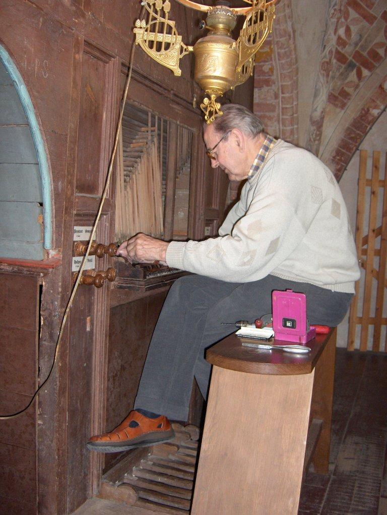 Dorpskerk Krewerd Orgel 1531 Orgelbouwer Albert Hendrik de Graaf