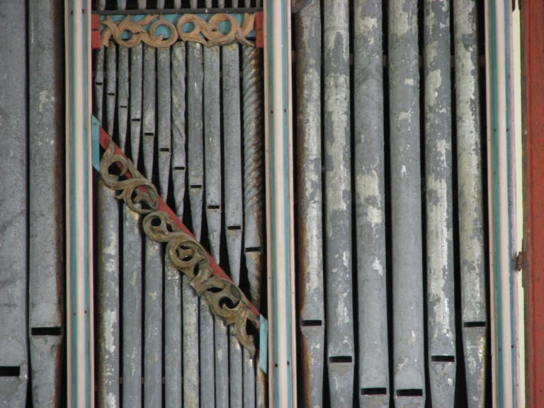 Dorpskerk Krewerd Orgelfront 1531 Detail