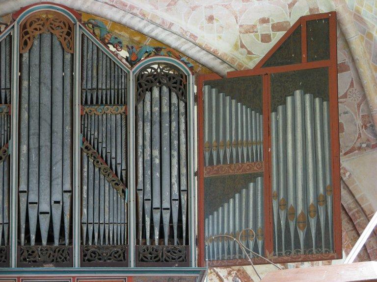 Dorpskerk Krewerd Orgelfront 1531 Rechts