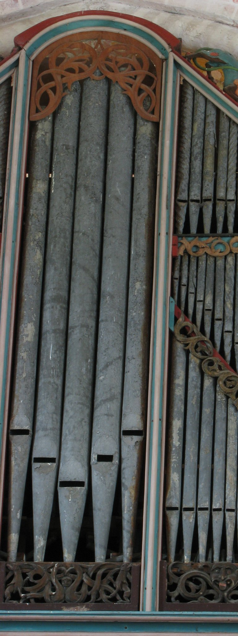 Dorpskerk Krewerd Orgel 1531