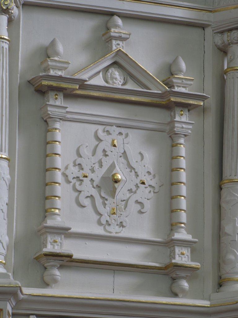 Preekstoel detail