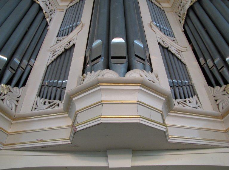 Hoofdwerk onderzijde middentoren